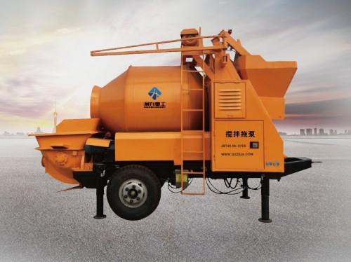 小型混凝土泵车发展