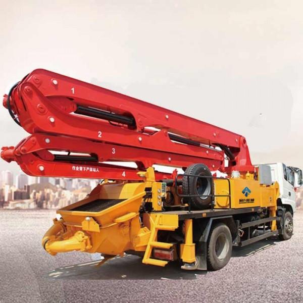 33米小型混凝土泵车
