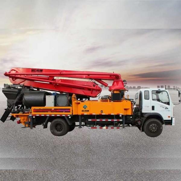33米混凝土搅拌泵车