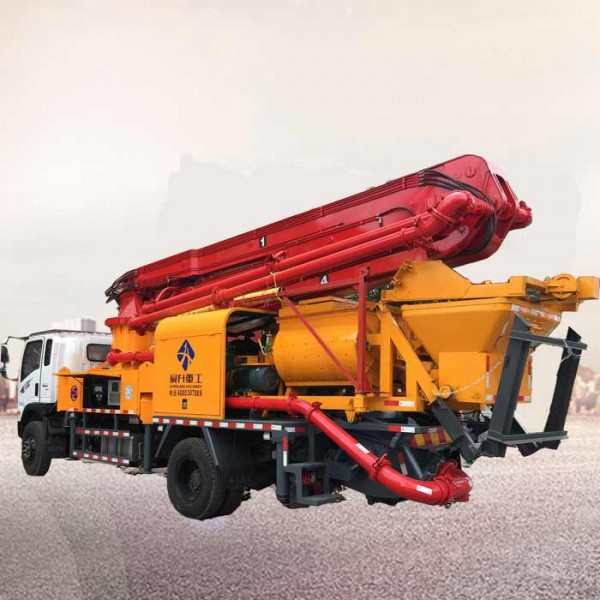 28米混凝土搅拌泵车