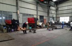 展升重工生产车间环境