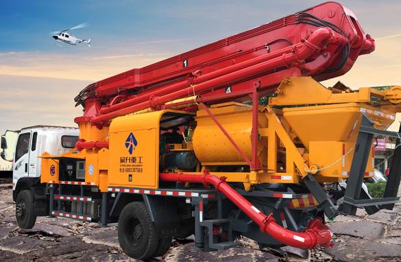 30米搅拌泵车